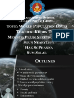 World Population Issues
