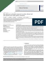 Diet Adherence and Gluten Exposure in Coeliac Disease And