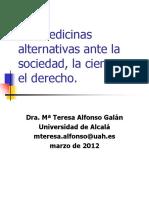 Las Terapias Alternativas y Su Validación Científica
