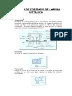 Proceso de Formado de Lamina Metalica