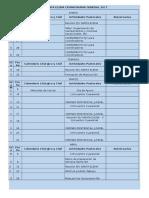 Pjv Santa Elena Cronograma General 2017 2