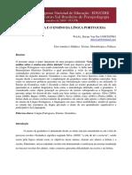 artigo GRAMÁTICA E O ENSINO DA LÍNGUA PORTUGUESA.pdf