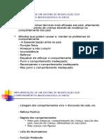 Implementação de um sistema de modificação dos comportamentos.ppt