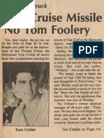 Tom Cruise OC Tribune 11.17.88
