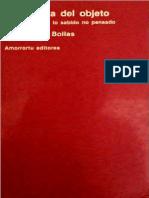 Bollas, Christopher - La Sombra del Objeto - Psicoanálisis de lo sabido no pensado - Ed.  Amorrortu.pdf
