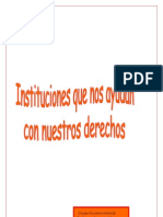 guía de las instituciones