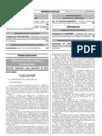Decreto Supremo que aprueba el Plan Nacional de Protección de los Consumidores 2017-2020
