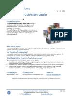 CBS-811 Programming Quickstart Ladder Diagram