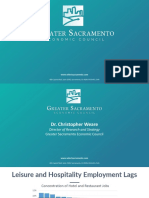 Greater Sacramento 'Conversations with the Community - Transforming the Visitation Economy