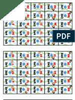 Lindo Domino para Reforzar las Tablas de Multiplicar