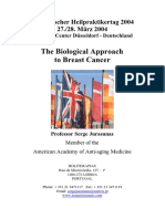 The Biological Approach to Breast Cancer