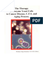 The Therapy of Enzyme Yeast Zell in Cancer. 2001 Serge Jurasunas