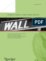 2nd Edition Common Terms in Structured Finance