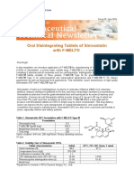 22 Oral Disintegrating Tablets of Simvastatin With F-MELT JUN2011