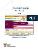 DoE(SA) -Energy Price Report '16