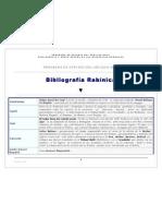 Bibliografias Rabinicas