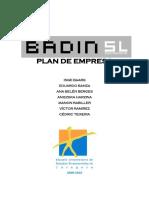 Plan de Empresa BADIN SL