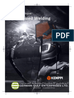 Kemppi Mechanized Welding Catalogue - German Gulf Enterprises Ltd
