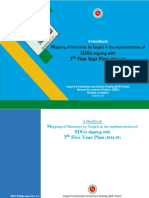 A Handbook Mapping of Ministries Targets SDG 7 FYP 2016