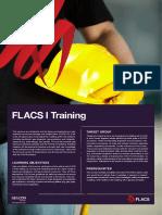 FLACS I Training Course Agenda