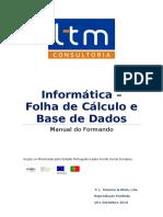 Informática - Folha de Cálculo e Base de Dados_Manual Do Formando