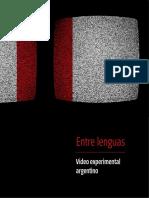 Catálogo Entre Lenguas - Video Experimental