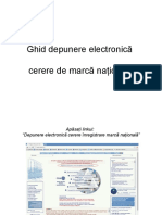 Ghid Depunere Electronica Marca