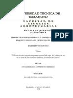 Eficacia de seis insecticidas en el control del trips en el ajo