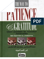 The Way to Patience and Gratitude