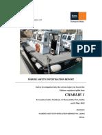 MV Charlie 1_Final Safety Investigation Report