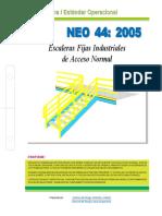 Escaleras Fijas Industriales de Acceso Normal Neo44-2005