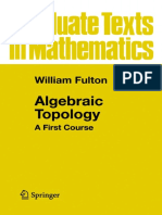 (Series_ Graduate Texts in Mathematics, Vol. 153) William Fulton-Algebraic Topology_ a First Course-Springer-Verlag (1995)
