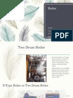 Two Drum Boiler