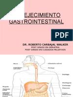 Envejecimiento Gatrointestinal.Fisiologia