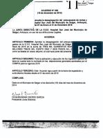 Acuerdo Nro. 006 Del Ppto de 2015