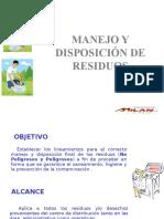 Manejo y Disposición de Residuos