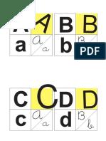 alfabeto 12x12