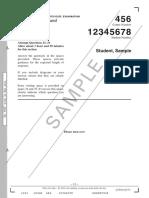 Hsc SDD Sec2 Ptb Answer Booklet
