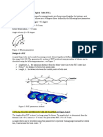 Information for the 3D PST Tube Geometry Design