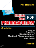Pharmacology Objective Questions