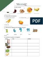 Class 1 Food Test