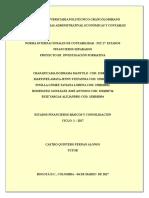 PIF - Primera Entrega - Estados Financieros