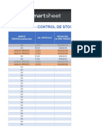 3 Inventory Stock Control Template ES1