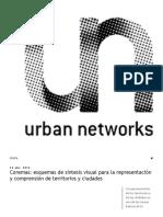 Urban Networks_ Coremas_ Esquemas de Síntesis Visual Para La Representación y Comprensión de Territorios y Ciudades