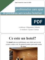 servicii hoteliere
