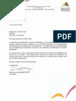 Carta de Acuerdo Colaborativo entre EnRedes y la Asociación de Maestros