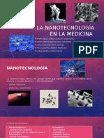 La Nanotecnología en La Medicina