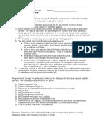 Data Modeling Analysis