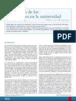 Evaluacion de Los Aprendizajes en La Universidad