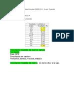 Analisis de Dolomita 05-07